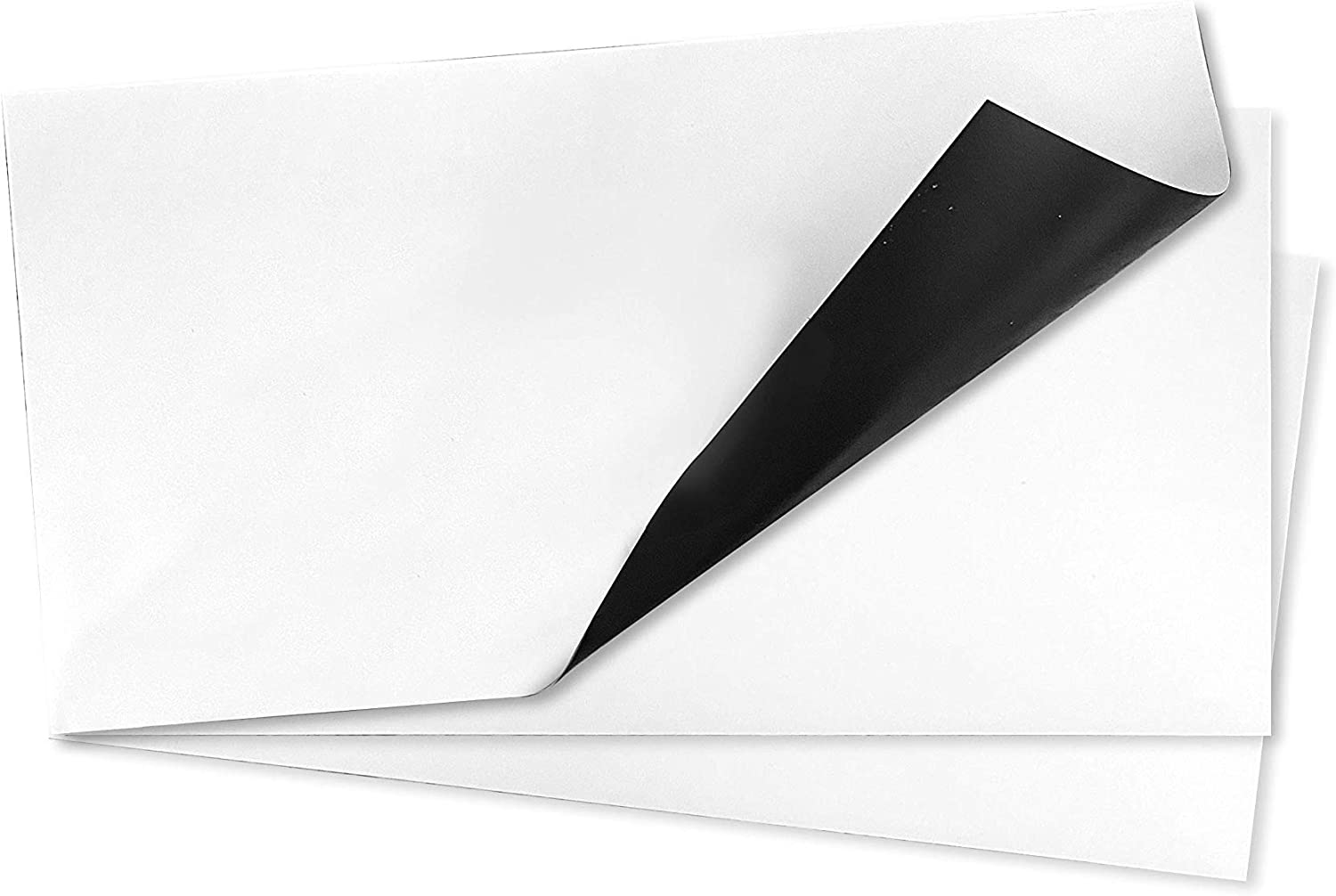 FilterWow Pack of 3 White Flexible, Paintable & Trimmable Magnetic Vent Covers for Home, Garage, RV Or Other Use - Original Size 15 X 8