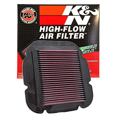 K&N Engine Air Filter: High Performance, Premium, Powersport Air Filter: 2002-2020 SUZUKI/KAWASAKI (DL650A, V-Strom, ABS, XT, XT ABS, XT Touring, DL650XA, Adventure, DL1000, KLV1000) SU-1002: Automotive