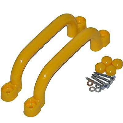 Agarradores, color amarillo: Juguetes y juegos