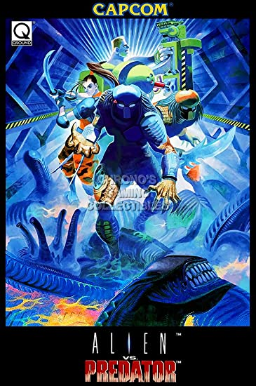 Amazon.com: CGC enorme cartel – Alien Vs Predator Arcade Neo ...