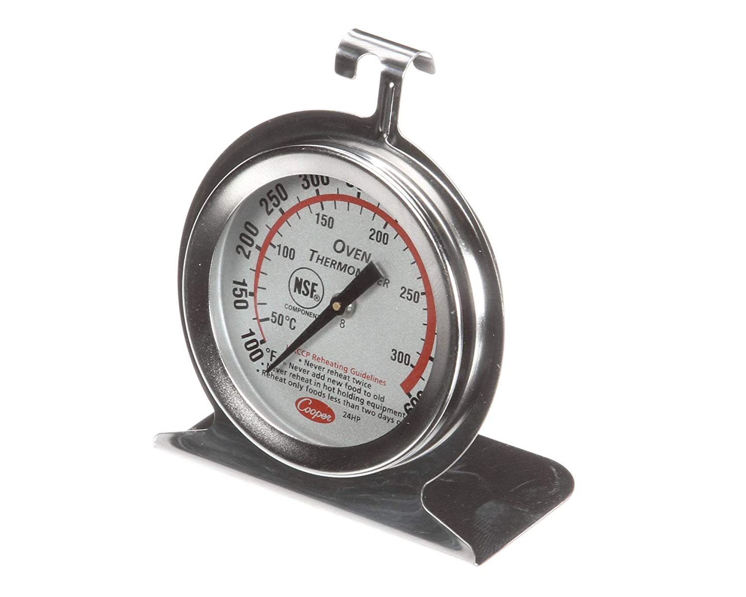 Cooper Atkins 24HP-01-1 Oven Thermometer Nsf Haccp Ss