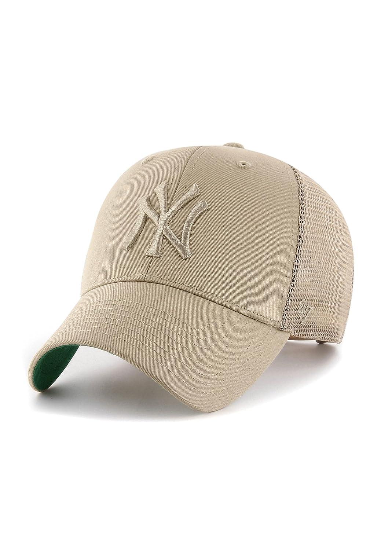47 Brand MLB NY Yankees Branson MVP Cap - Khaki  Amazon.co.uk  Clothing 2df7aaad93d