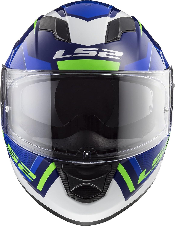 Nero//Viola LS2 Casco Moto FF320 STREAM EVO PASLY MATT VIOLET