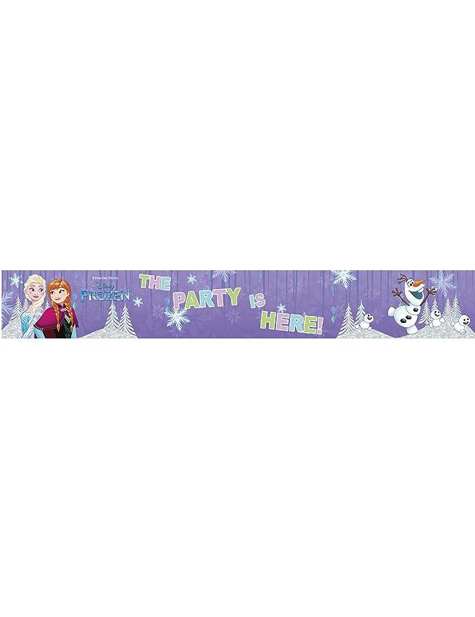 COOLMP - Lote de 12 Banderas de Aluminio, diseño de Frozen ...