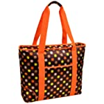Picnic at Ascot Extra Large Insulated Cooler Tote, Julia Dot