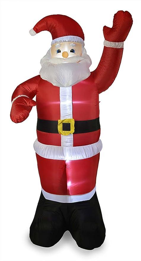 8 ft nuevo gigante hinchable de Papá Noel 2,4 m Padre Navidad ...