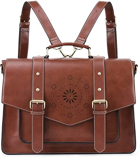 leather messenger bag for woman