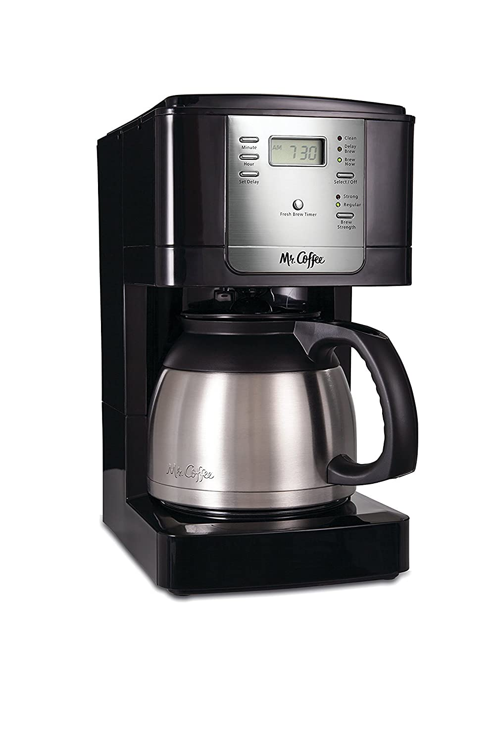 Mr. Coffee JWTX85 8-Cup Thermal Coffeemaker, Stainless Steel