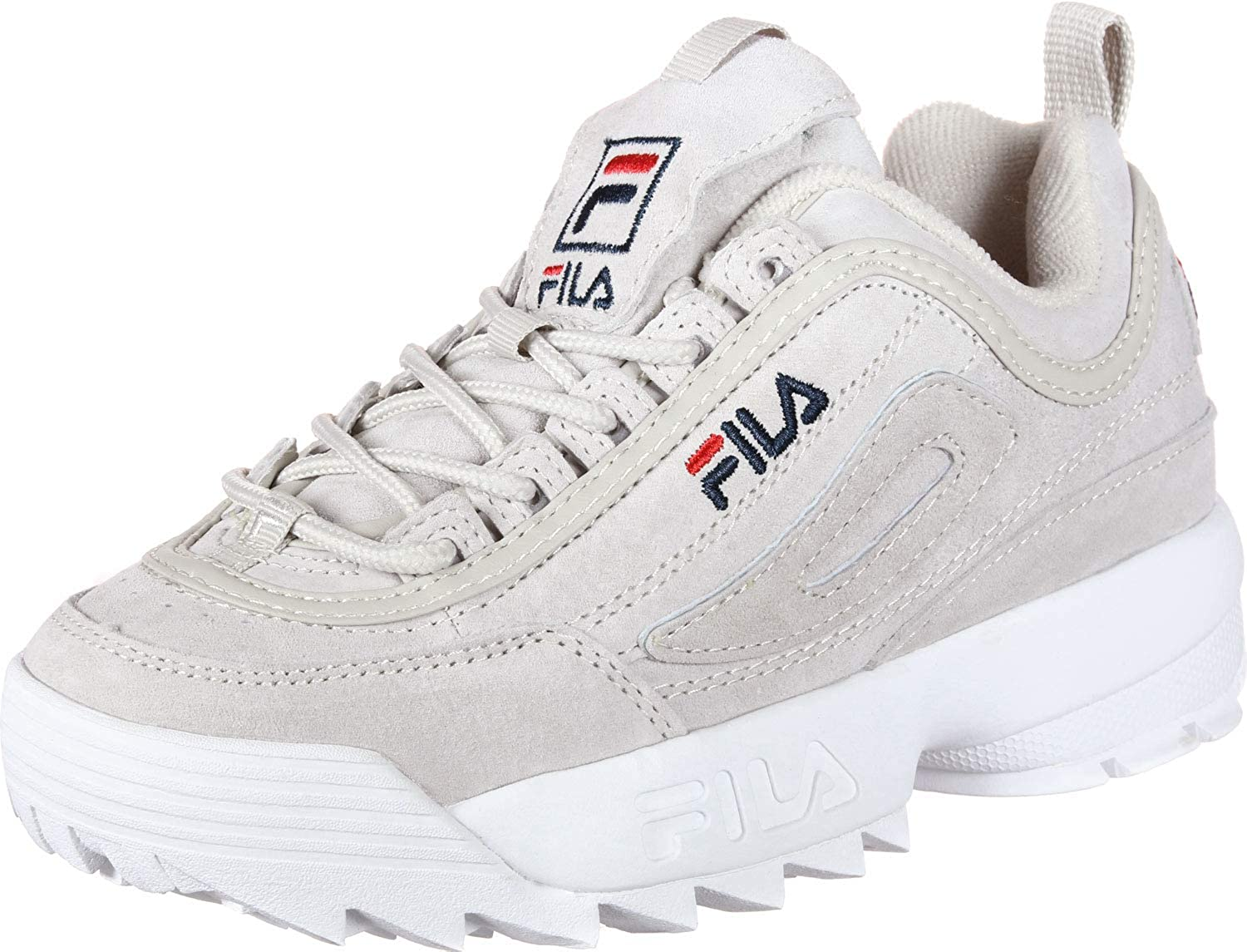 Fila Disruptor S W Shoes Chateau Gray: Amazon.co.uk: Shoes