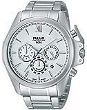 Pulsar - PT3435X1 - Montre Homme - Quartz Analogique - Chronomètre - Bracelet Acier Inoxydable Argent