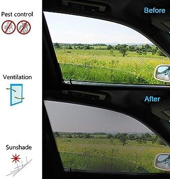Fydun Parasoles Infantiles para Coche beb/és con Protecci/ón UV Bloqueando sol 1 pcs Coche Parasol Protector Linda Jirafa Ni/ño (Asiento trasero)
