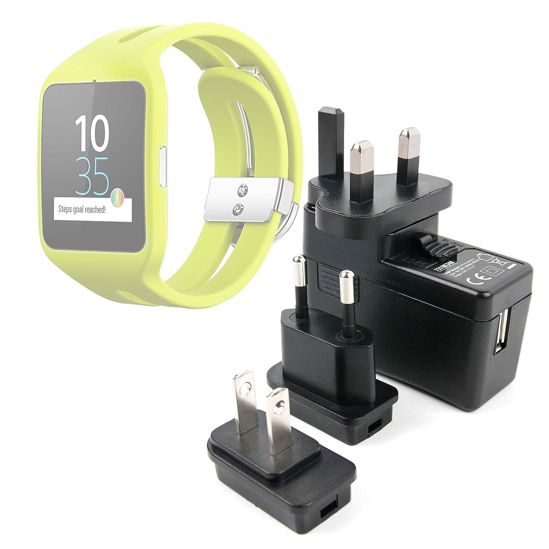 DURAGADGET Kit De Adaptadores con Cargador para Reloj Sony ...