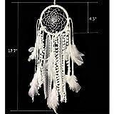 Dremisland Dream Catcher Handmade Traditional White