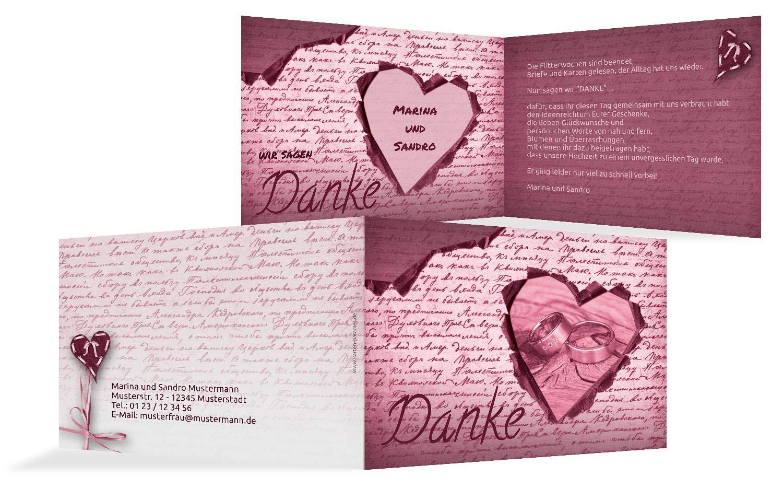 Hochzeit Dankeskarte 2 Herzensgedicht, 10 Karten, braunmatsch B07HNJH2ZP | Zu Zu Zu einem erschwinglichen Preis  | Tragen-wider  | Erste Kunden Eine Vollständige Palette Von Spezifikationen  a2910f