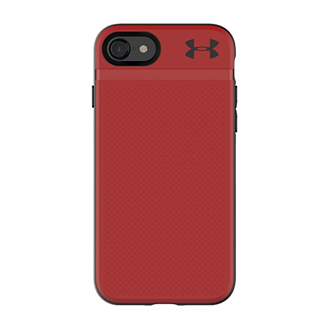 sports shoes 22be7 7ac29 Under Armour UA Protect Stash Case for iPhone 8 & iPhone 7 - Red/Black