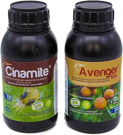 CINAMITE® + AVENGER® (1.250 m2). Acaros/Insectos/Araña/Hongos ...