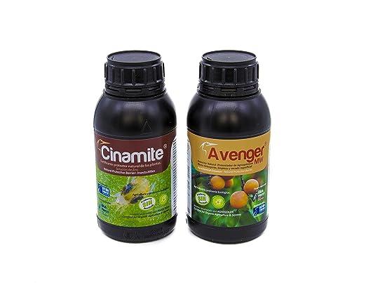 Pack CINAMITE® + Avenger® (500 m2). Acaros/Insectos/Hongos; Pack ...