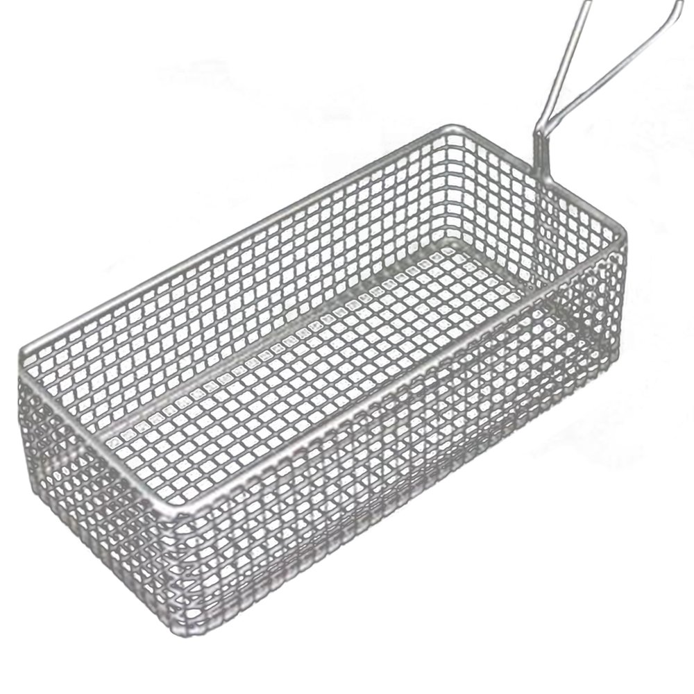 Small Fried Food Basket Stainless Steel G rectangle