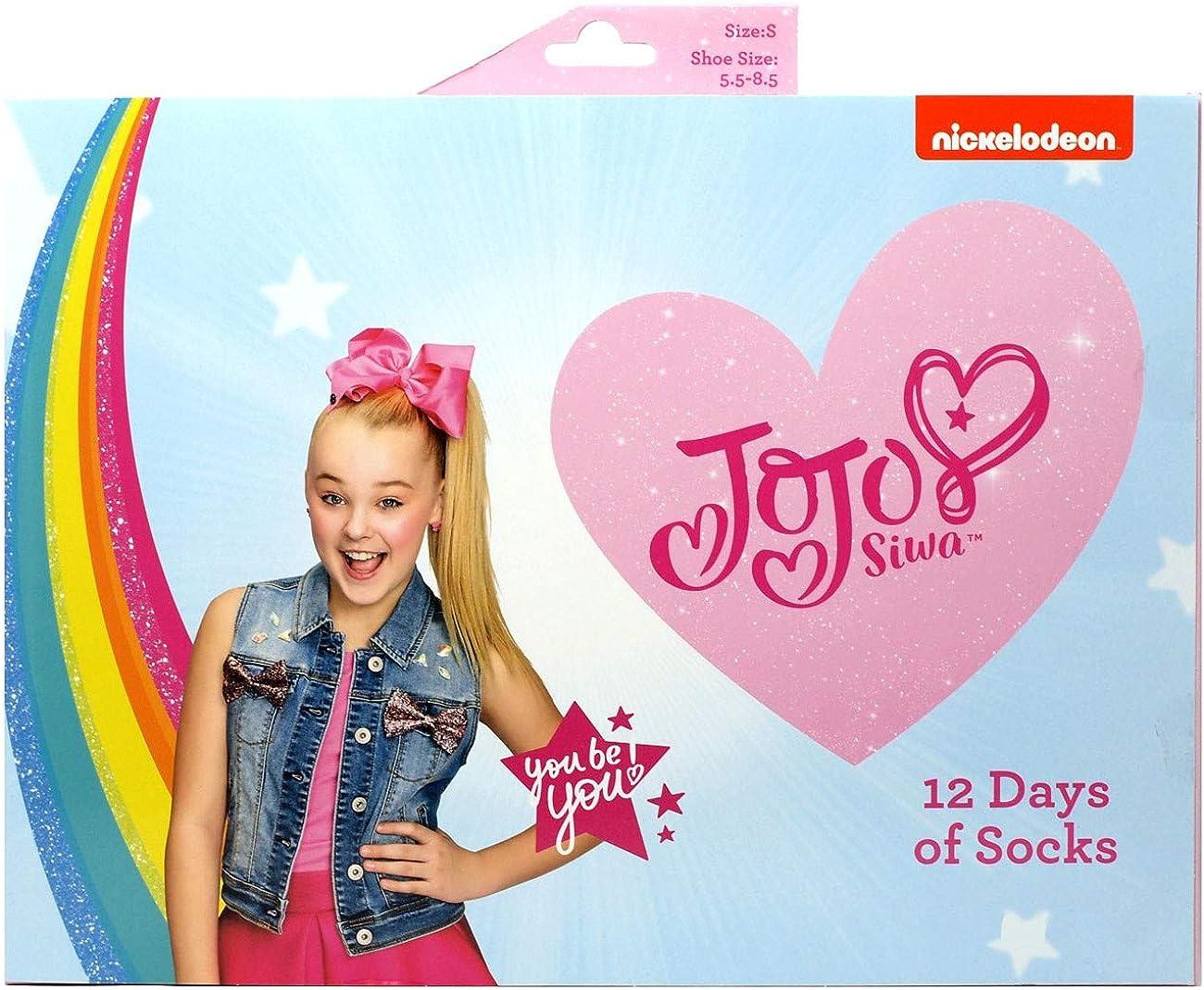 12 Days of Socks JoJo Siwa, Kids Size