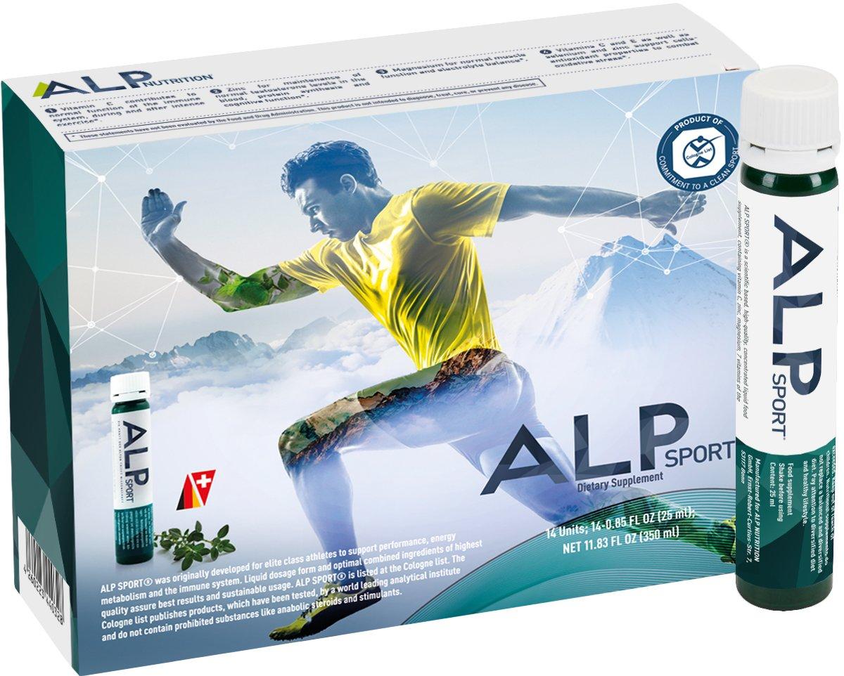 ALP NUTRITION ALP SPORT - Mulitivitaminas ampollas nutrición deportiva líquida, 1er Pack (14 unidades): Amazon.es: Salud y cuidado personal