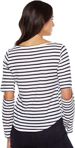 LNA Womens Odeon Stripe Tee