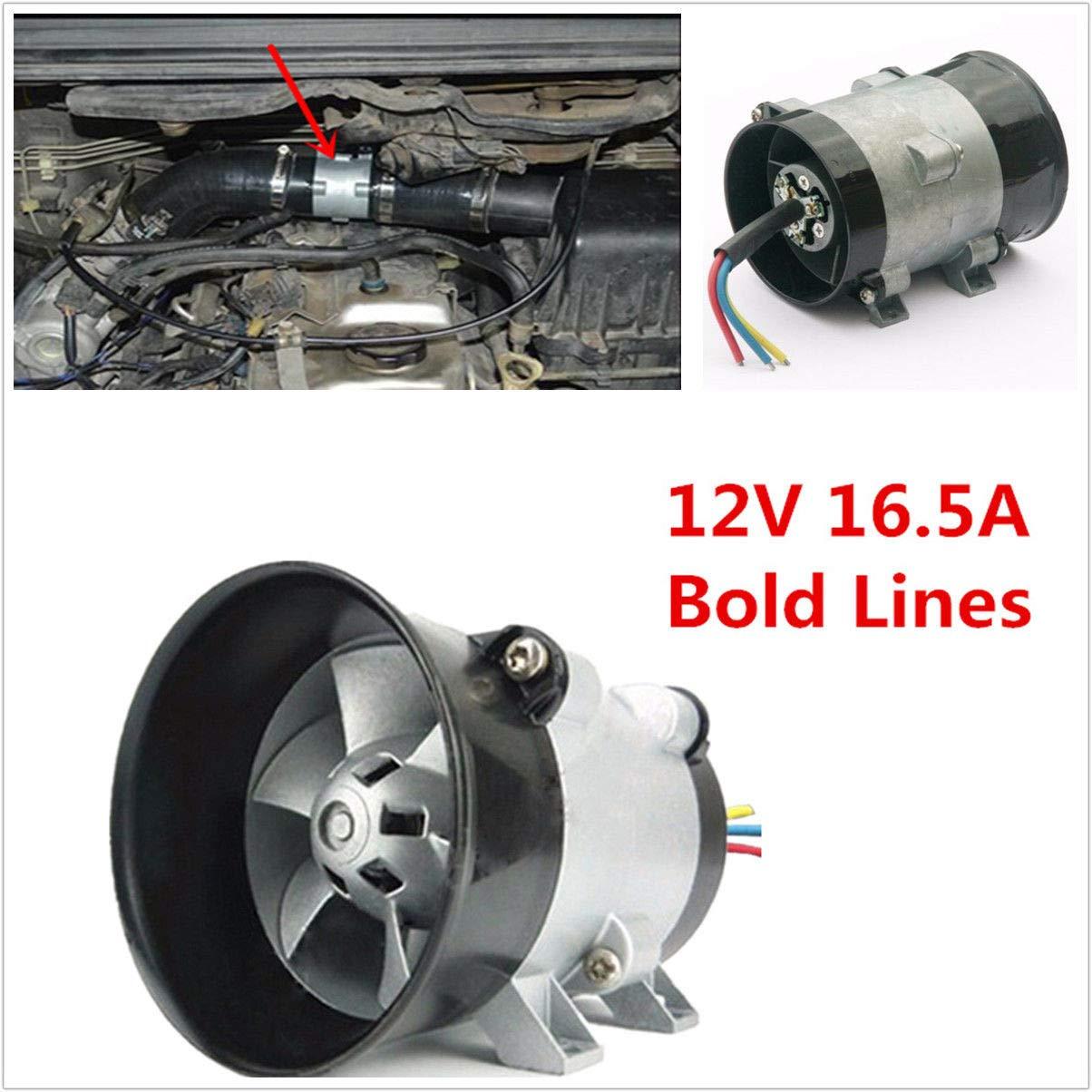 Universale auto elettrico turbina Turbo charger tan Boost aspirazione aria ventilatore 12 V 16.5 a BEEAUTO