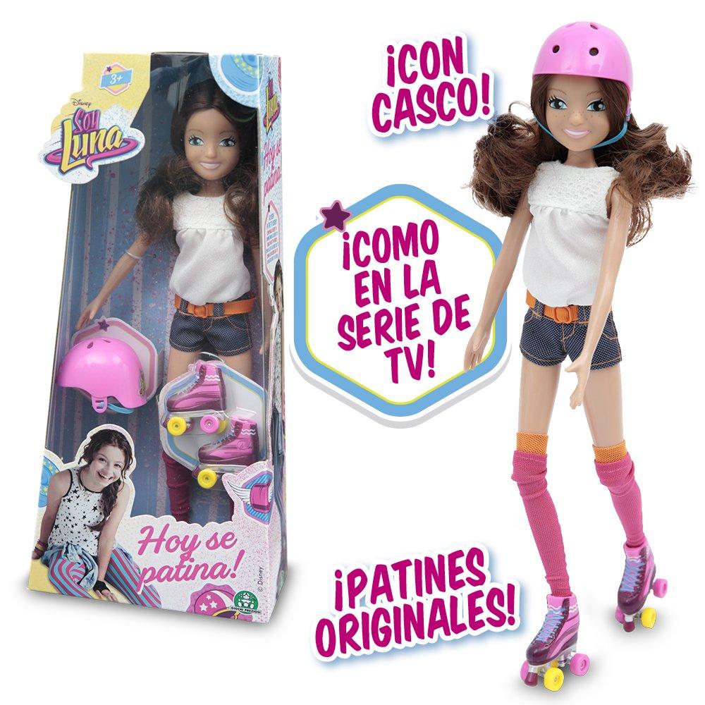 Soy Luna - Fashion Doll con Rollers y Casco (Giochi Preziosi YLU30000)