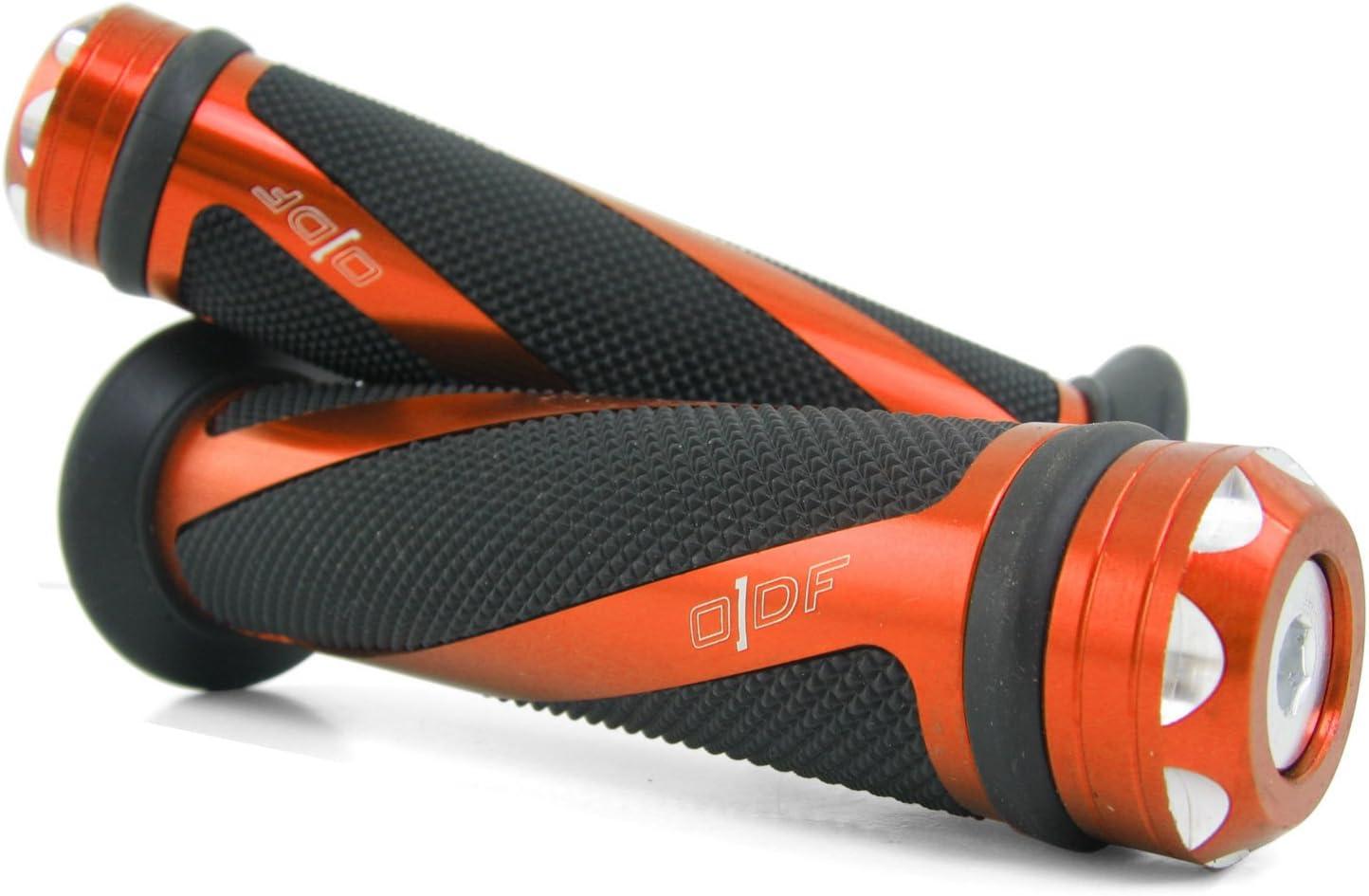 Coil//Orange Lenkergriffe kompatibel mit Honda CB 600 Hornet//CB 250 Two Fifty Vision