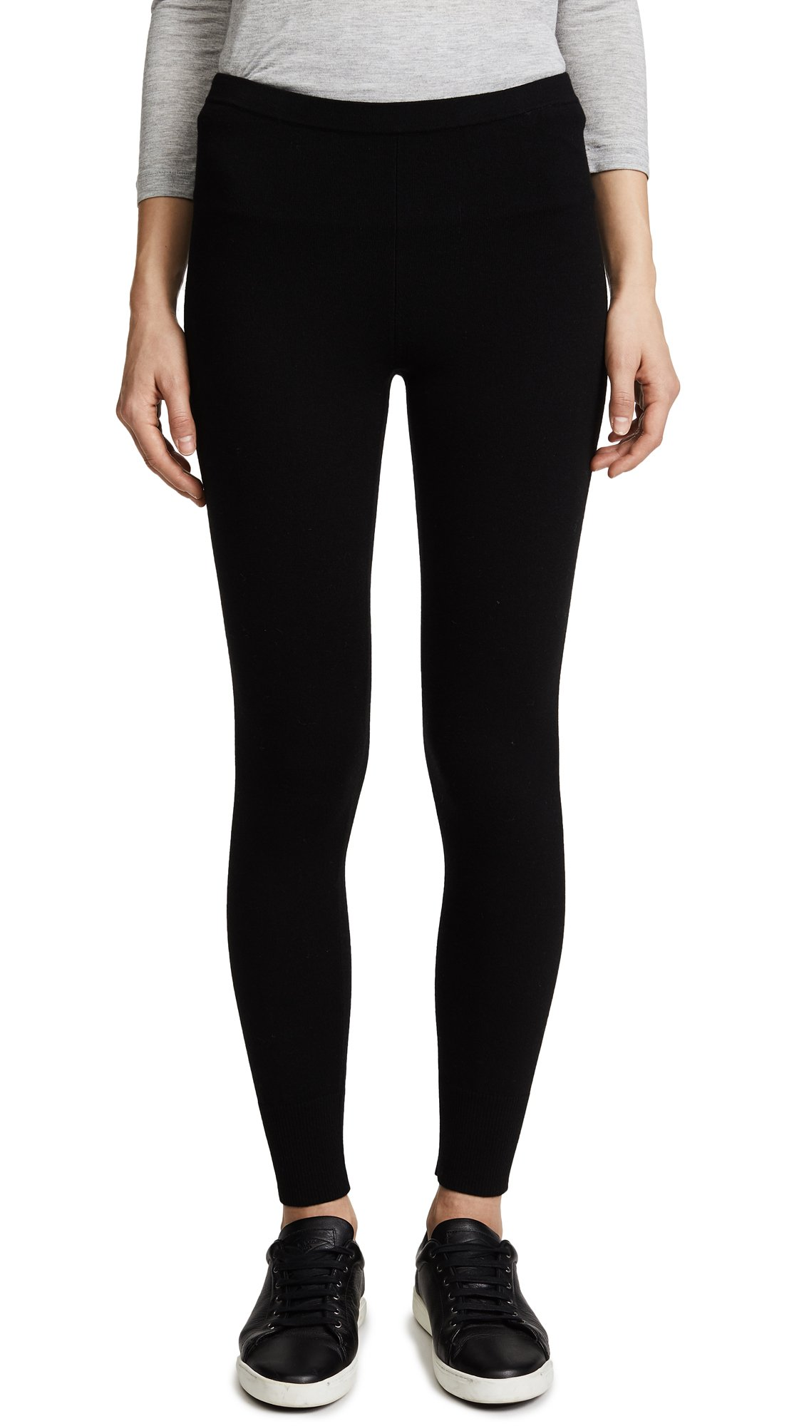 Vince Women's Leggings, Black, Large