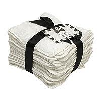 Household Bargains 10 Pack Tuxedo Wash Cloths Washcloths