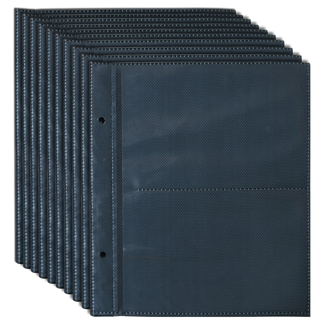 Giftgarden Hojas de Álbum con Fundas,10 x 15 cm para 40 Fotos Sainthood PA122301