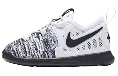 a995e883f7b2 sale nike toddlers kd9quot oreo white black first walkers shoes 855910 100  0cc32 09898