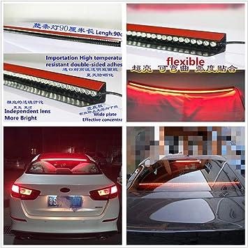 "Universal 36/"" Roofline LED Third High Brake Tail Light Kit Above Rear Windshield"