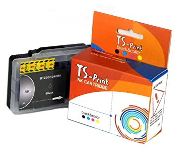 TS-Print Cartucho de Tinta Compatible para Brother LC-1220BK LC ...