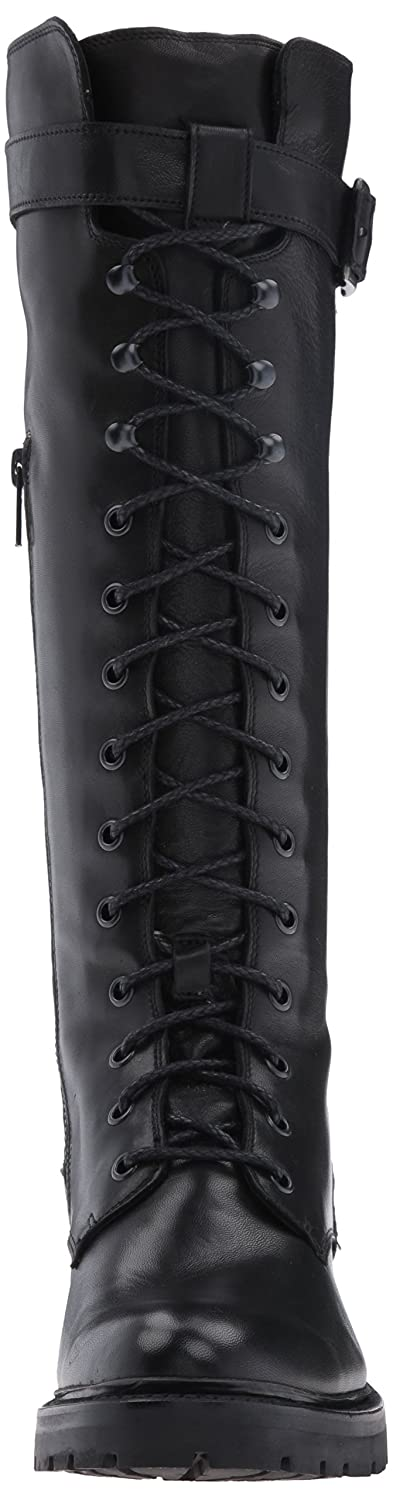 FRYE Womens Julie Lace Tall Combat Boot