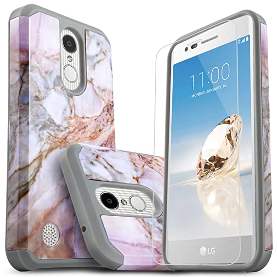 new concept 1d938 14a50 LG K30 Phone Cases, LG Xpression Plus, LG Premier Pro LTE, LG Phoenix Plus,  LG Harmony 2, With [Premium Screen Protector Included] Starshop Dual ...