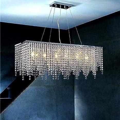 Lámpara de cristal de alta calidad LED para salón, comedor ...