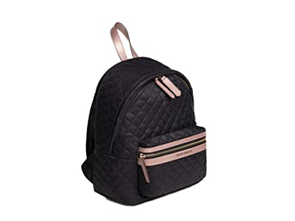 Image Unavailable. Image not available for. Color  Archer Brighton  Lightweight Quilted Nylon Laptop Mini-Backpack (Black) b98167be020e8