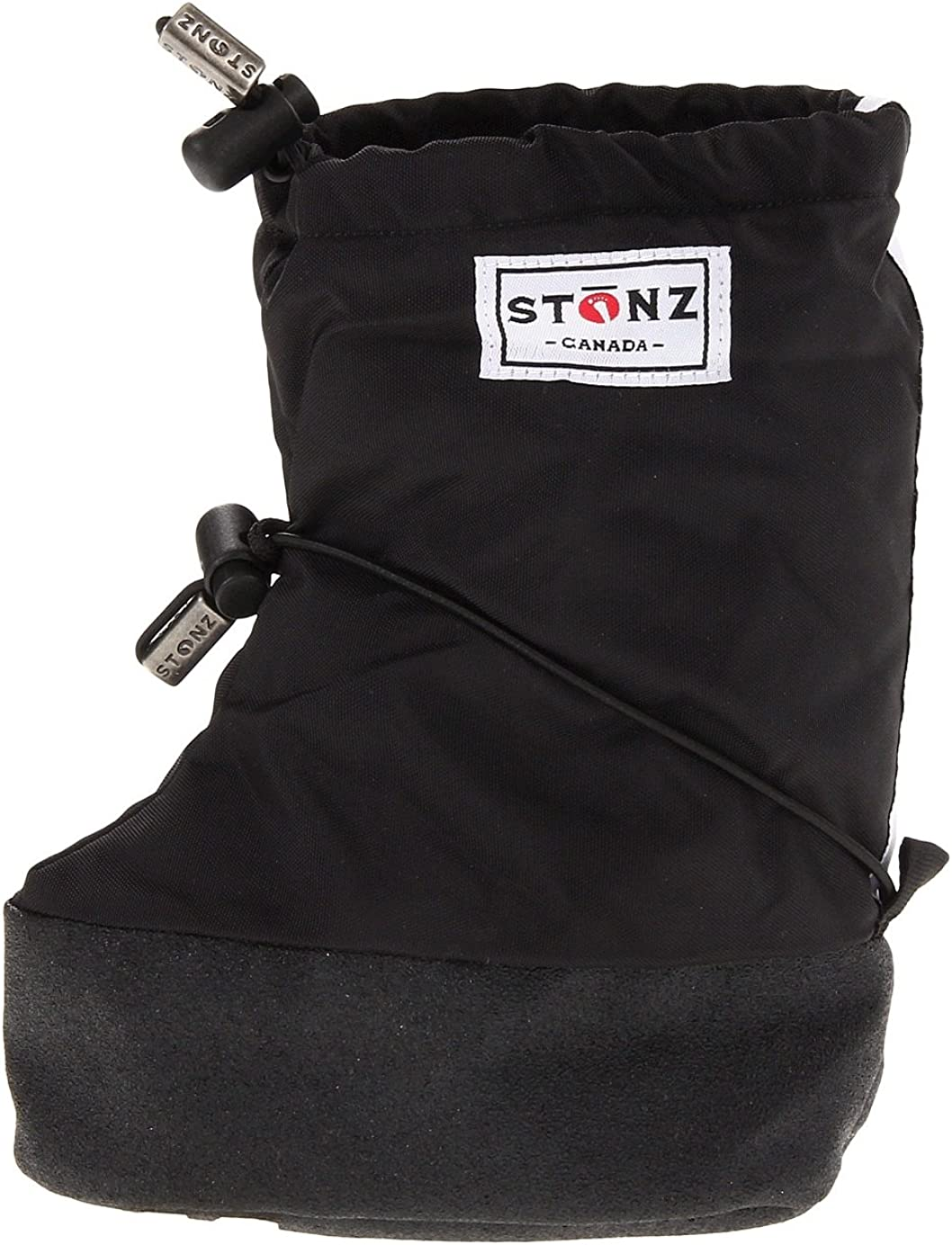 Over Bare Feet or Shoes Three Season Stay-On Snow Boots Stonz Winter Booties Baby//Infant//Toddler Boys and Girls Mild or Cold Weather