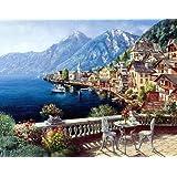 1000PCS Jigsaw Puzzles for Kids Adults European Austria Town Landscape Educational Intellectual Game Gift Set