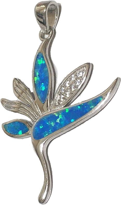 "Beautiful Green Fire Opal Gold Plated Hawaiian Star Necklace 18/"" Chain"