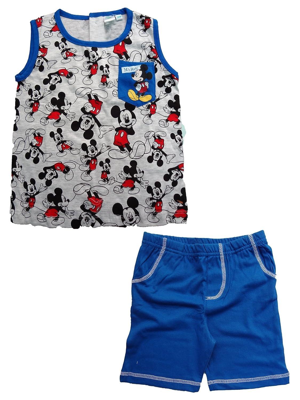 WD101315 Disney completo neonato spalla larga pantaloncino MICKEY nuova collezione art