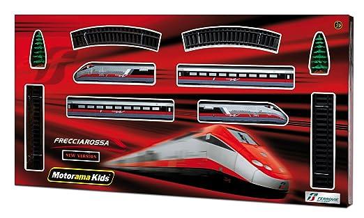 107 opinioni per Mac Due Motorama 497384- Treno Freccia Rossa a Batteria, Scala 1:87
