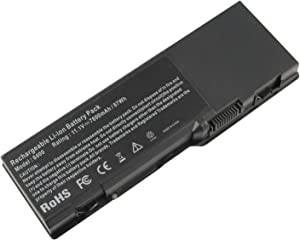 ARyee 6400 Battery Compatible with Dell Inspiron E1505 1501 6400 PP23LA PP20L, Dell Vostro 1000 Dell Latitude 131L(11.1V 7800mAh)