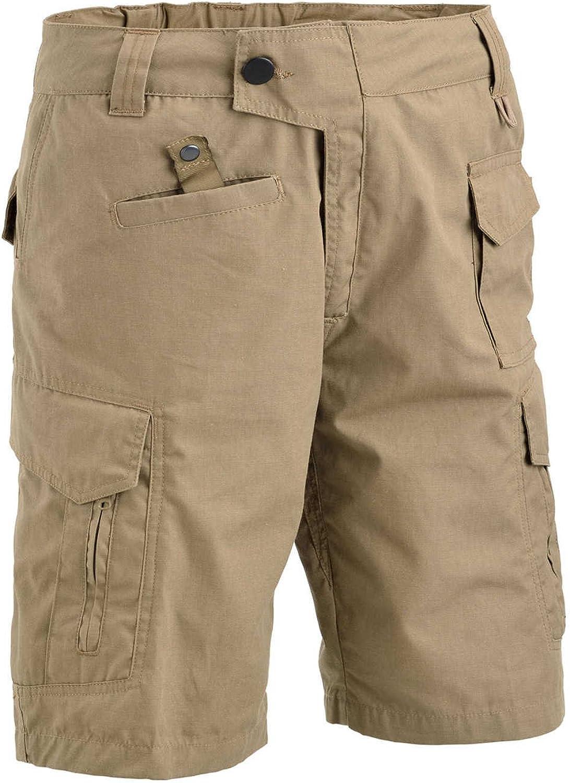 DEFCON 5 Pantalone Corto Advanced Tactical rip Stop Grigio M