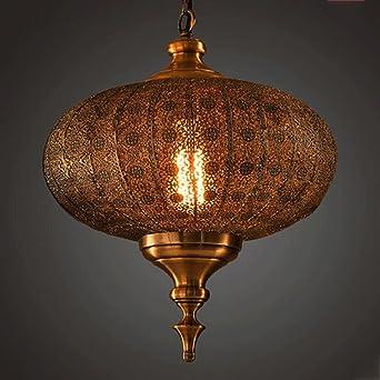 TXXM Kronleuchter Retro Personalisierte Kronleuchtern Orientalisch Indien  Pataliputra Metall Laterne Kronleuchter