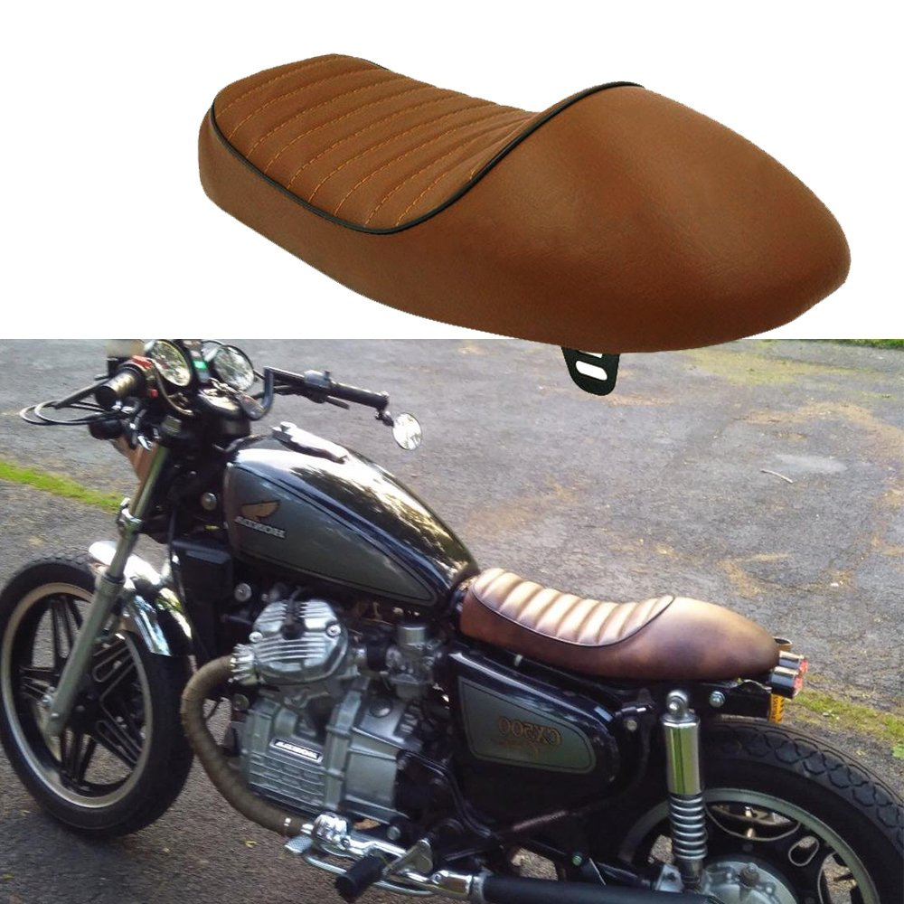 Blown Vintage Motorcycle Hump Retro Saddle Seat For Cafe Racer Honda Yamaha Suzuki