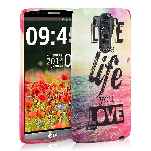 27 opinioni per kwmobile Cover per LG G3 S D722V- Custodia in silicone TPU- Back case protezione