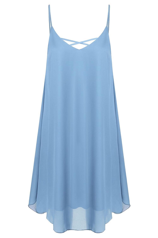 Zeagoo Women's Summer Strap Sleeveless Beach Sundress