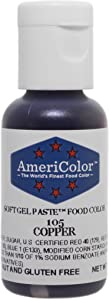 AmeriColor Copper Soft Gel Paste, .75 Ounce